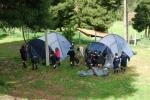 Montagem das tendas